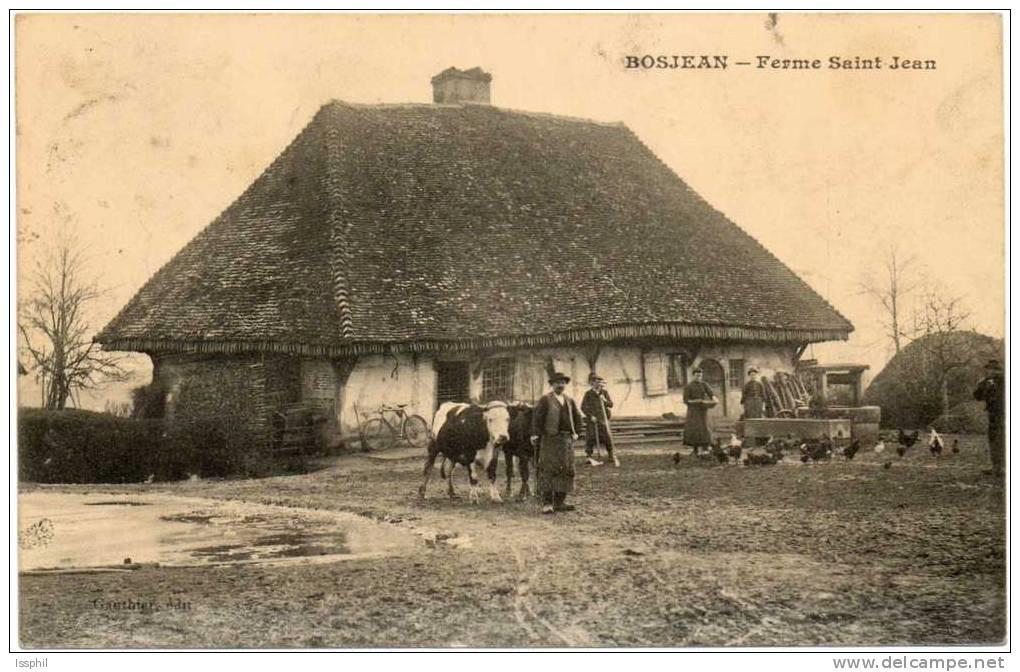 Carte Postale Bosjean