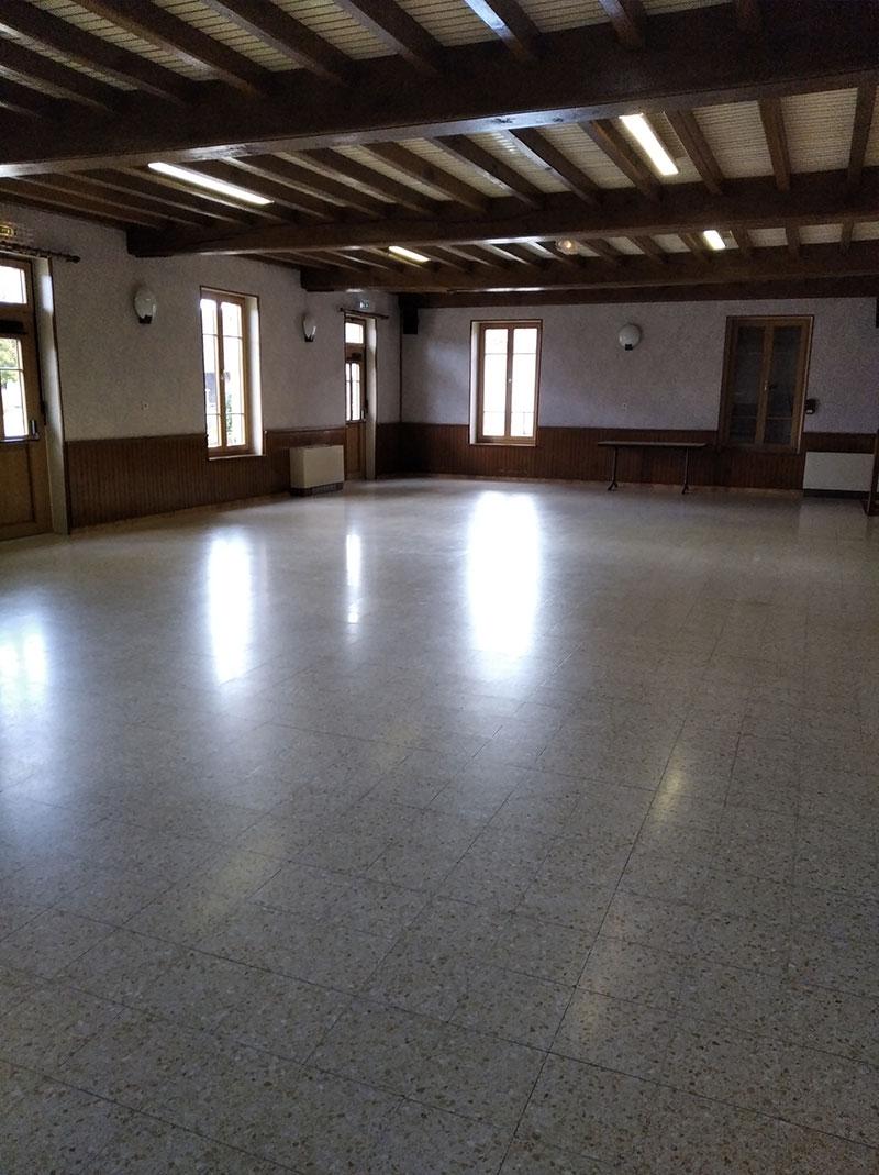 salle polyvalente Bosjean