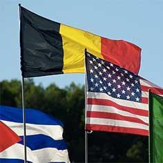 drapeaux étrangers